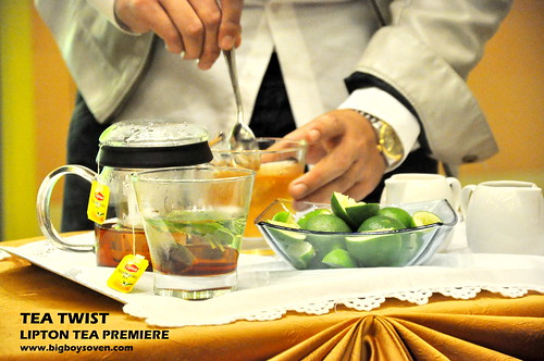 TEA TWIST Lipton Tea Premiere 2