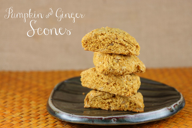 Pumpkin & Ginger Scones