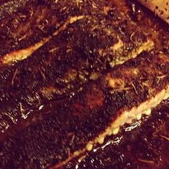 Saumon grillé aux herbes #cuisine #food #faitmaison #poisson #saumon #aneth #romarin #ciboulette #origan #instafood