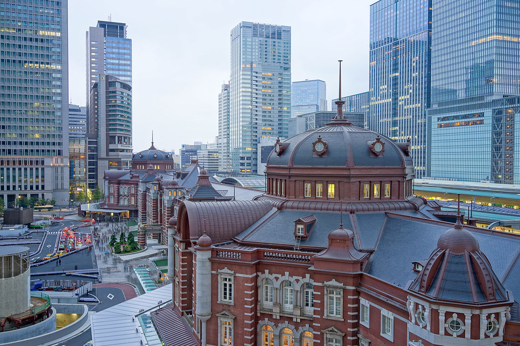 東京駅-HDR