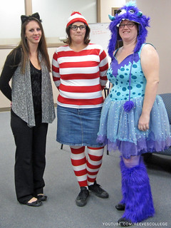 Check out Halloween Costumes at the Reeves College Lethbridge Campus in Alberta - Where is Waldo