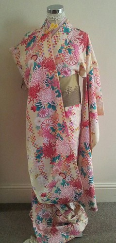 Furisode for dressing