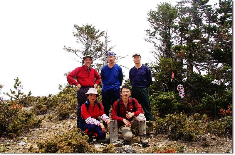 布干山山頂(Elev. 3339 m) 1