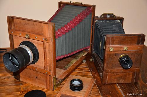 wooden cameras by phollectormo