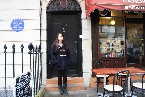 Sherlock location: North Gower Street | 10 weeks in London