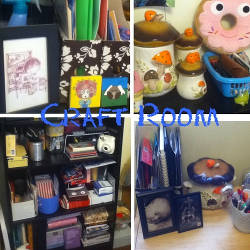 Craft room makeover! It feels so good to have everything cleaned and organized! #crafts