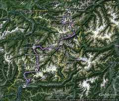 AlpenX2013_Karte