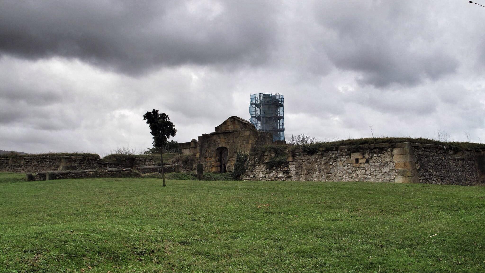 fuerte de la galea_siglo XVIII_construcción