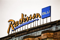 Radisson Blu Sign
