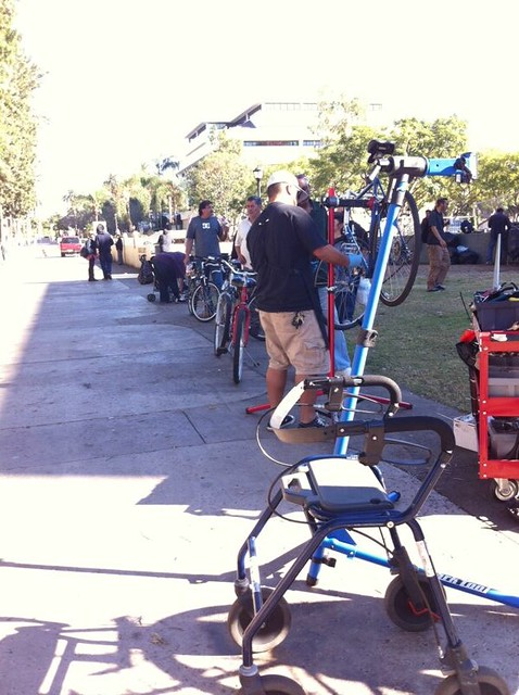 Bicycle repair for the homeless