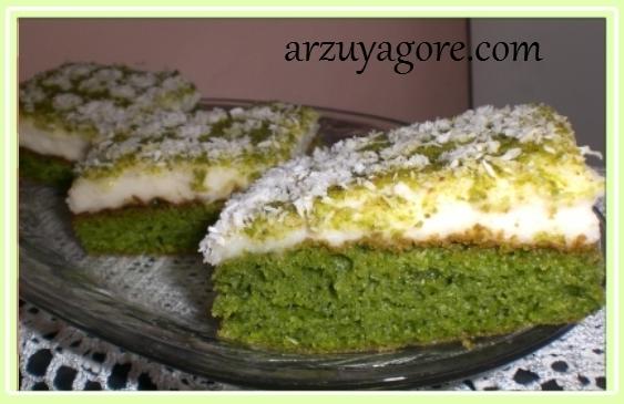 ıspanaklı kek-0