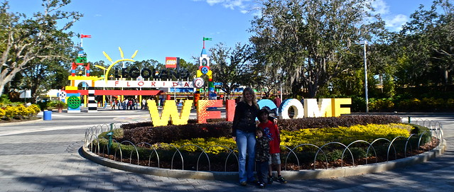 lego land florida - entrance