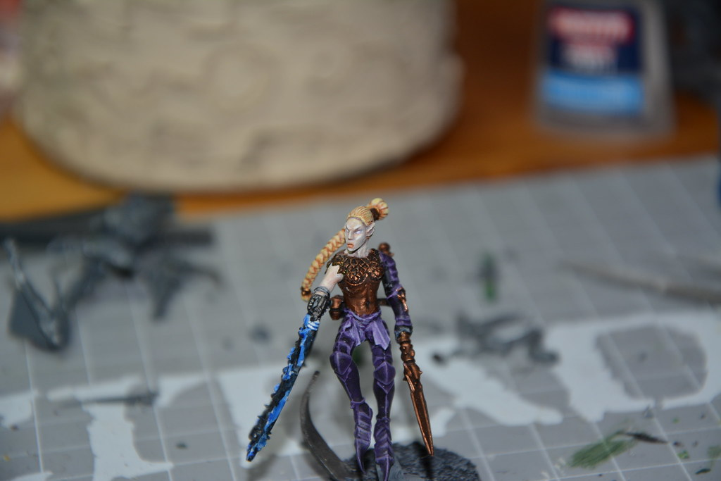Cult of Bladed Violet & Kabal of Violet Storm - DE witches conversion! 11737503296_13d049af60_b