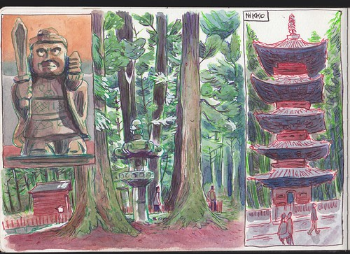 Japan sketchbook