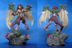 art(1.0), mythical creature(1.0), mythology(1.0), figurine(1.0),