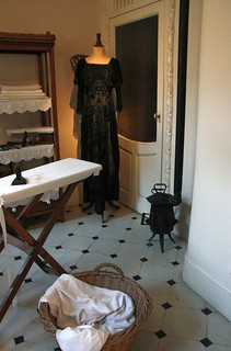 Appartment in Casa Mila by A. Gaudi - The laundry #1