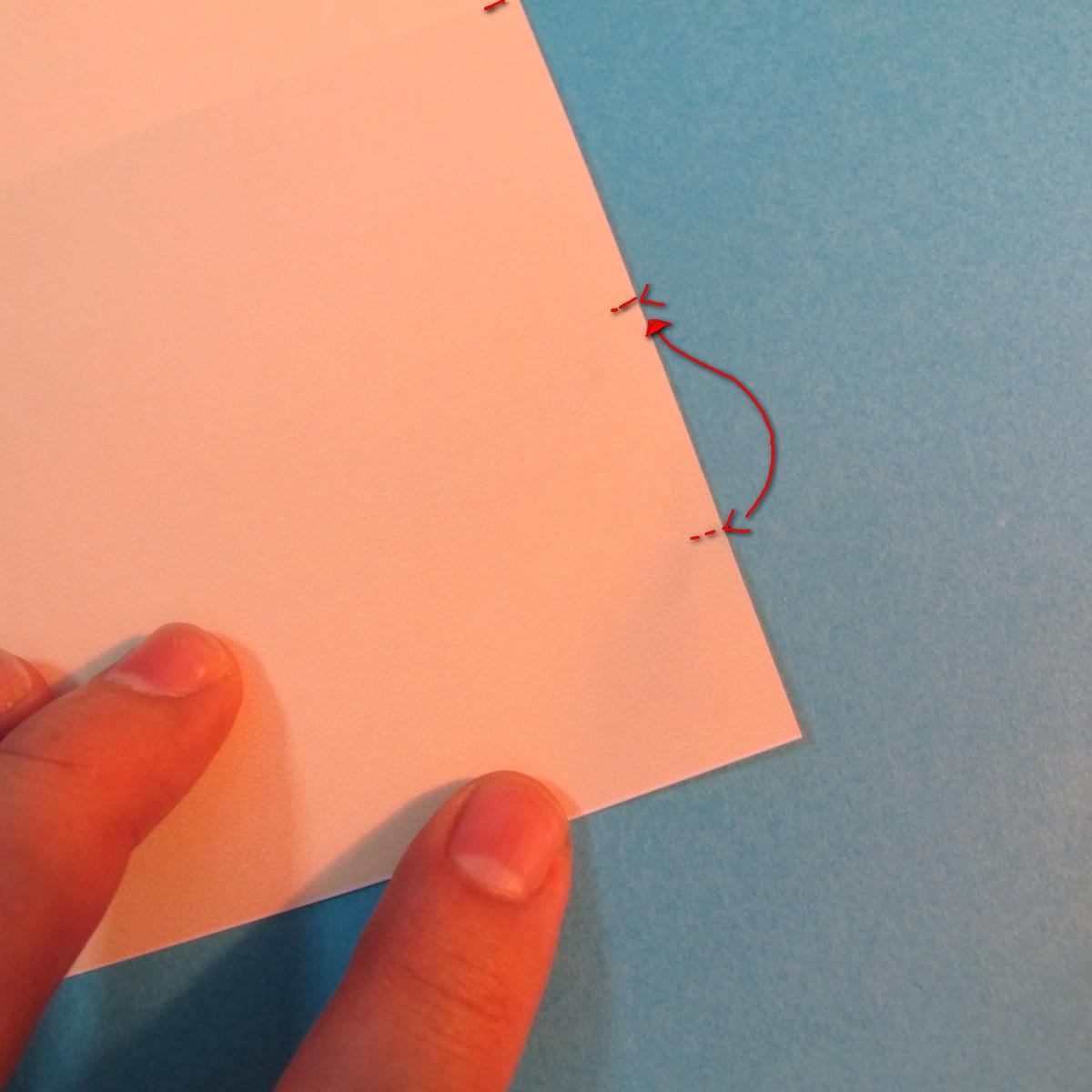 วิธีพับกระดาษเป็นผีเสื้อหางแฉก 005
