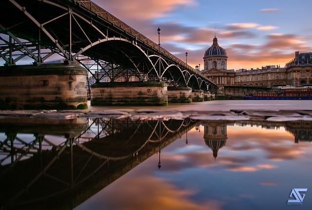 Pont des Arts @ Sunset