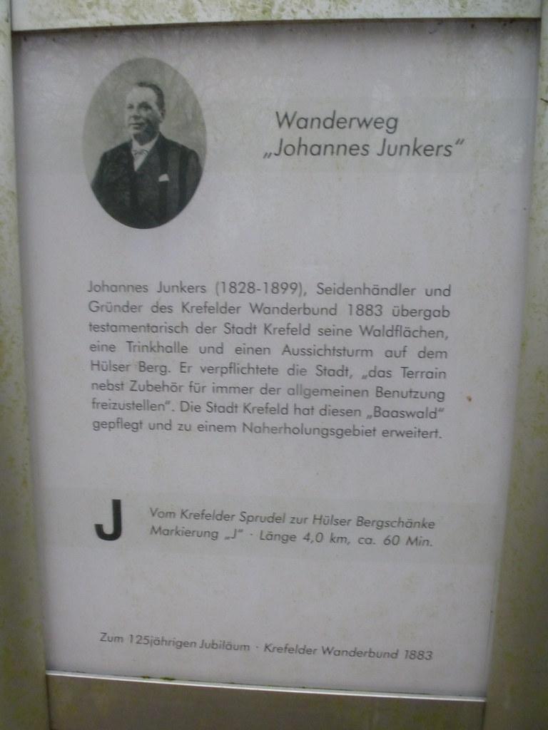 Tour 456 – Krefeld-Hüls – Auf dem Johannes-Junkers-Weg – Wanderwegewelt