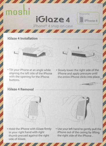 moshi iGlaze 4 安裝方式