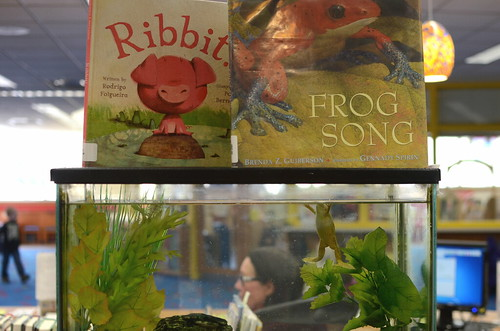 Frog Song by Brenda Guiberson and Ribbit by Rodrigo Folgeira