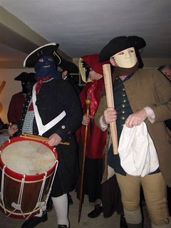 Mummers at Major John Buttrick House