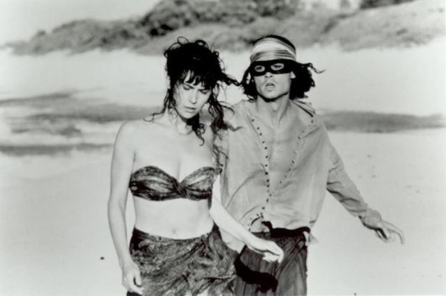 Johnny Depp and Géraldine Pailhas in Don Juan DeMarco © Jeremy Leven