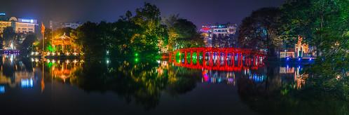 Vietnam - Hanoi, Hoan Kiem Lake