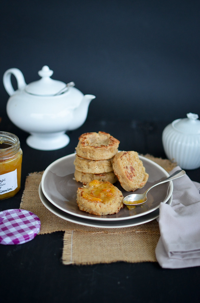 Crumpets/Muffins du matin