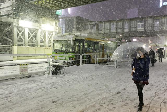 heavy snow TOKYO SAITAMA