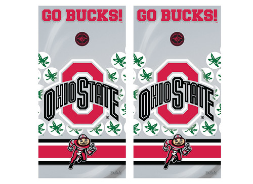Ohio State Cornhole Game Decal Set