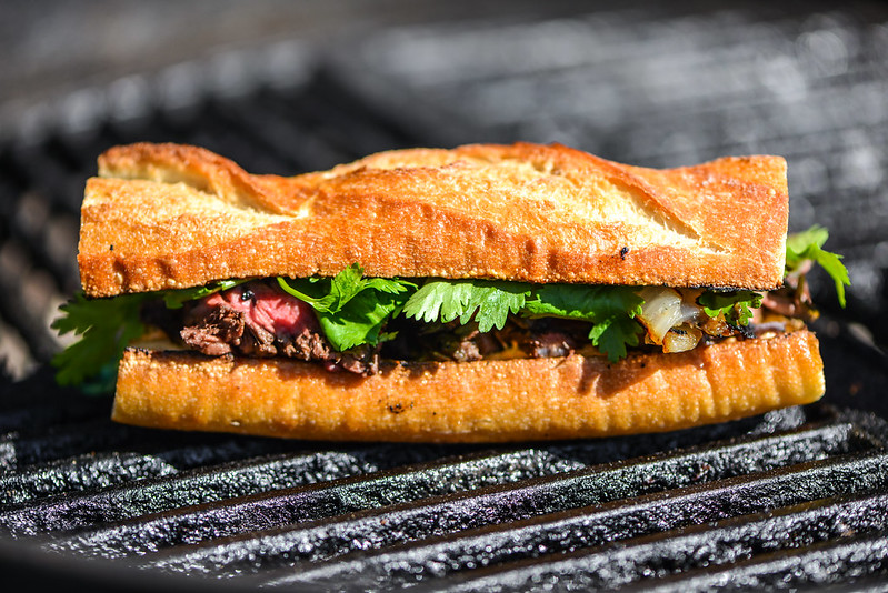 Jalapeño Hanger Steak Sandwich