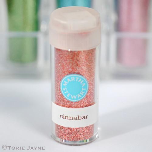 Ultra-fine glitter - cinnabar