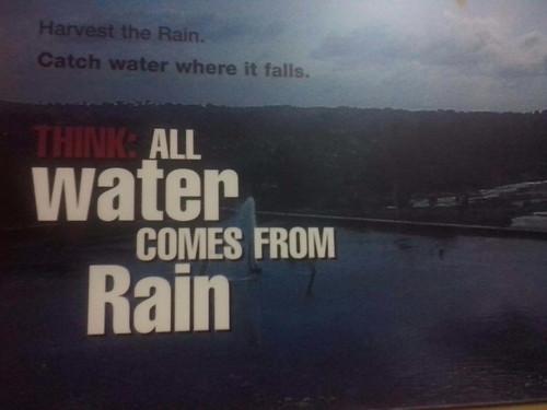 Rain water harvesting the rain center chennai for Rainwater harvesting quotes