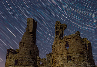 Dunstanburgh Star Trail