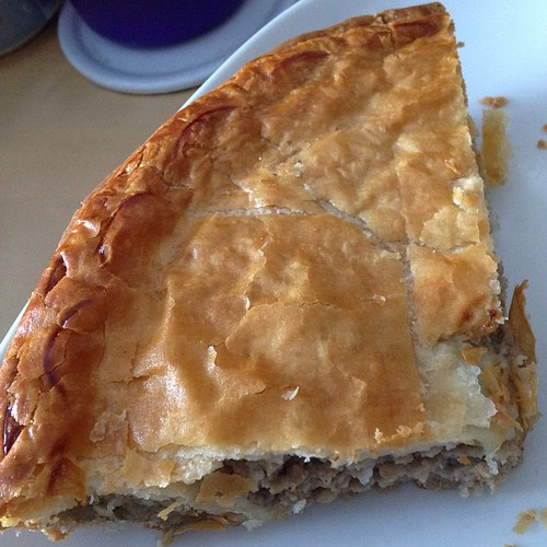 Happy pie day! Tourtière counts! #piday