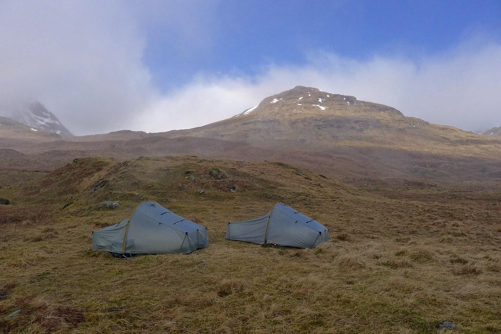 Camping in Glen Lochay
