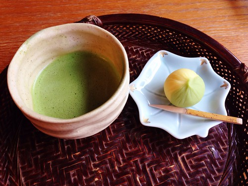 【兼六園】三芳庵のお抹茶