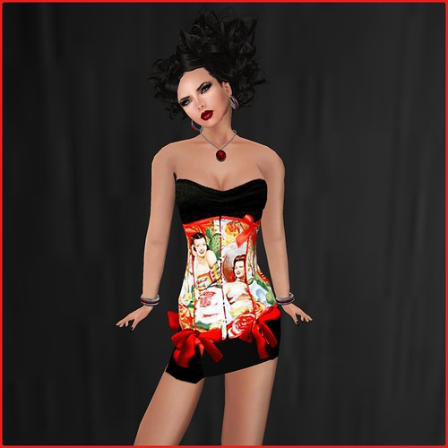 AsHmOoT_Pin Up Coll_Minidress N01 by Orelana resident ♛ MM Luxembourg 2014 ♛