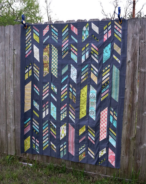 Feathers Quilt Top