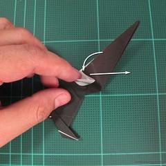 วิธีการพับกระดาษเป็นรูปจิงโจ้ (Origami Kangaroo) 020