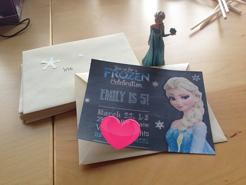 Mimi's Frozen Party Invites