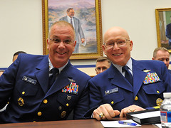 MCPOCG Leavitt joins Adm. Papp at FY15 Budget Hearing - 1