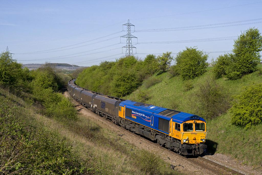 66722 Firbeck Jn 4D07 0900 West Burton - Doncaster Decoy 15-04-14