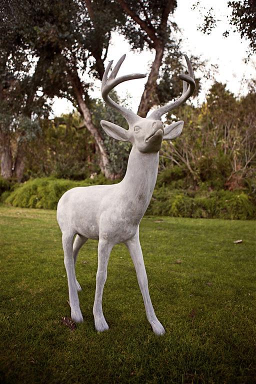 Standing Stag Deer