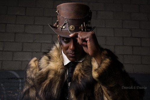 Steam Punk Model Jeffrey