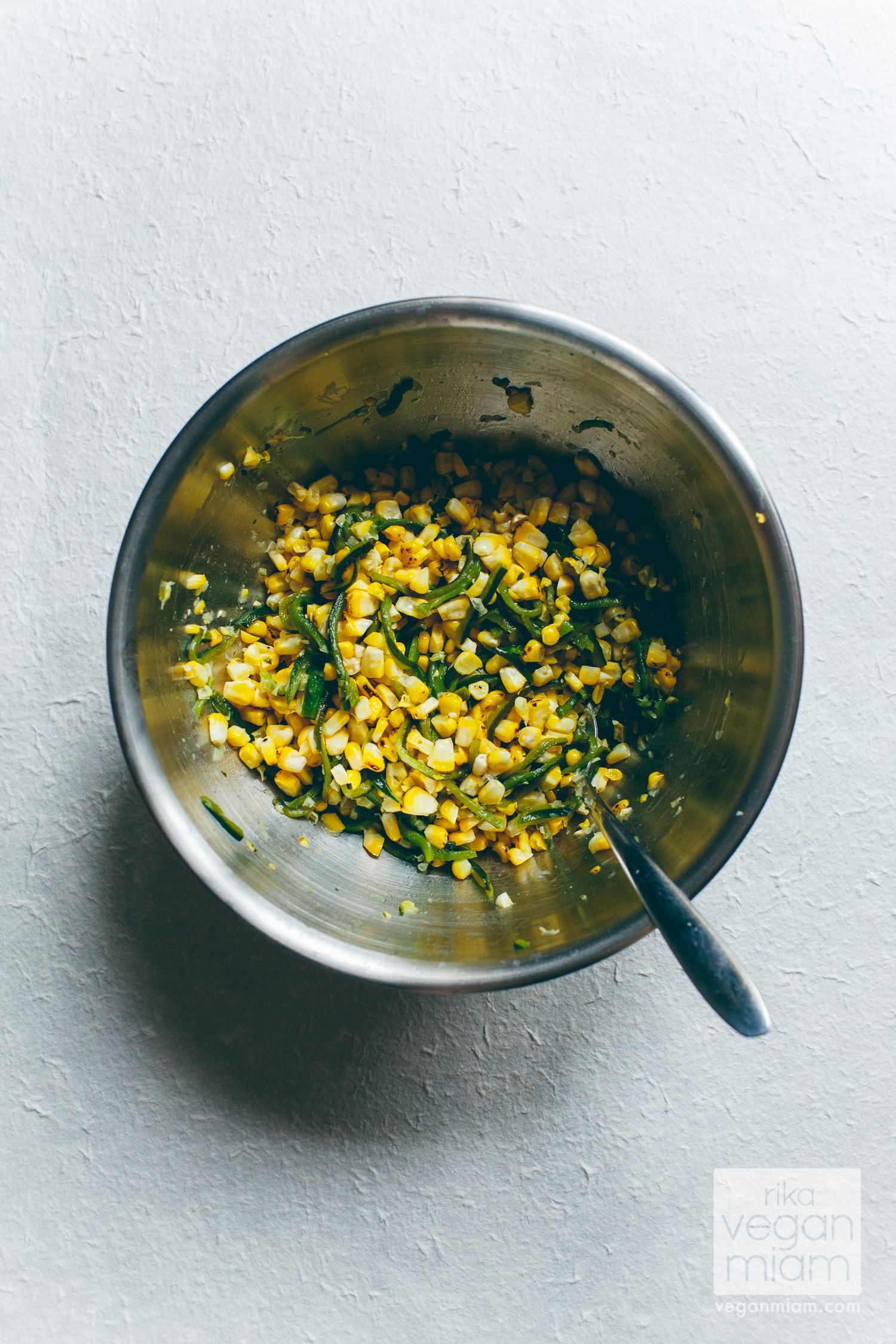 Roasted Corn and Poblano