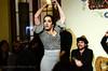 Genoveva Tapia , bailando flamenco con la mejor pasión