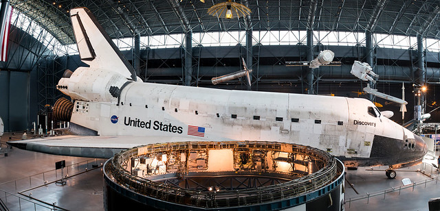 Rockwell Space Shuttle Discovery, Steven F Udvar Hazy Center, Washington Dulles KIAD
