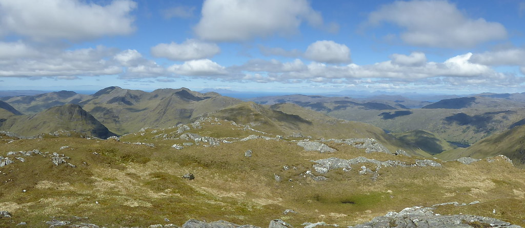 Western pano from Beinn Odhar Bheag